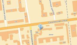 "Местоположение компании ООО ""Стройснаб 65"" на карте"